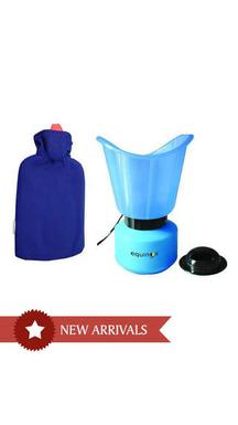 Equinox Steam Vaporizer & Hot Water Bottle with Cover Combo @ Rs.299