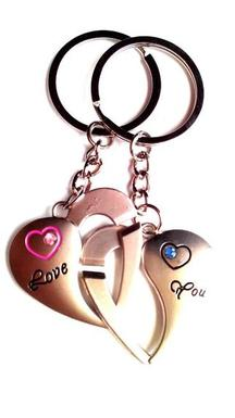 Keepsake Love You Keychain