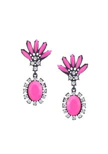 Tropical Pink Earrings