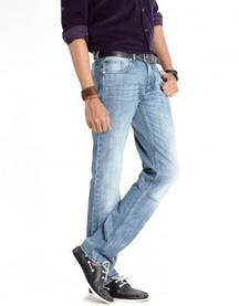 Men Blue Jeans