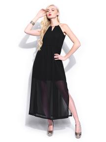 Mast & Harbour Black Maxi Club Dress For Just Rs 849