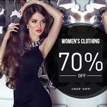 Upto 70% Off And Above On Women's Apparel