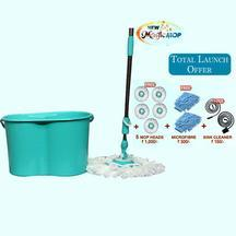 Buy Magic Mop and Get 46% OFF + Free Gifts Worth Rs.1450