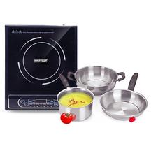 Sheffield induction cooktop + cookware @ 58% OFF