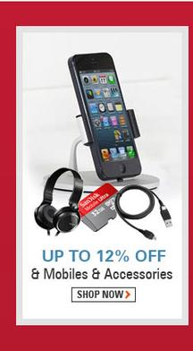 Up to 12% OFF on Mobiles And Accessories