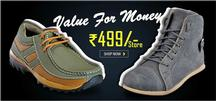 Minimum 60% Off Plus Flat 11% Off on Footwear