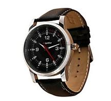 Classy Lotto Black Analog Watch Leather For Men For Rs.1