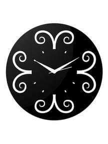 Black Round Wall Clock For Rs 999
