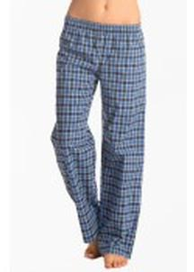 Prettysecrets Flirty Checks Blue Gingham Pajamas
