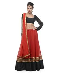 Georgette Lehanga Choli And Dupatta