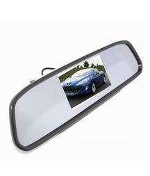 4.3 Digital TFT LCD Screen RearView Mirror Car Reverse Camera : Get 32% OFF