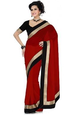 Printed Georgette Saree For Rs 849