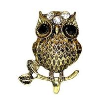 Chic Owl Ring