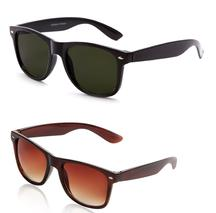 Stylish Black Wayfarer & Brown Wayfarer