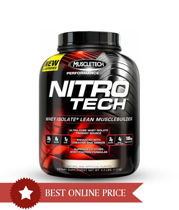 Muscletech Nitrotech protein supplement for ₹ 5199