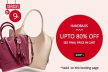 Up to 80% Off On Women Handbags