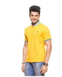 Yellow polo T-shirt For Rs 449