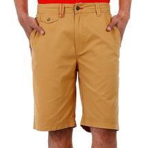 Sandal Solid Cotton Shorts For Men
