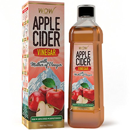 WOW Raw Apple Cider Vinegar At 71% OFF