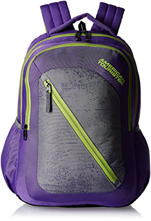 American Tourister 24 Lts Casper Purple Casual Backpack
