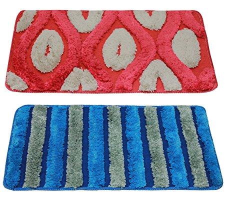 Story@Home 2 Piece Cotton Blend Door Mat Set At 75% OFF