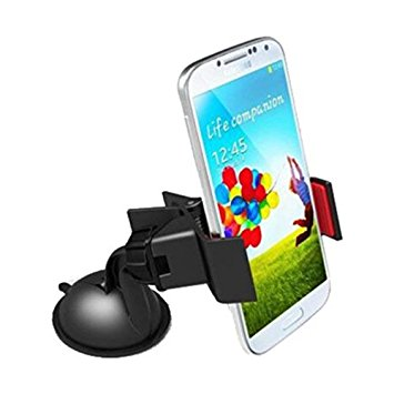 Retina 2768 360-Degree Rotating Mobile Holder (Black) At 72% OFF