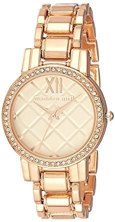 Madden Girl by Steve Madden Analog Rose Gold Dial Women's Watch - SMGW017Q