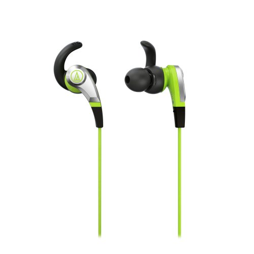 Audio Technica ATH-CKX5 GR Sonic Fuel In-ear headphones, Green