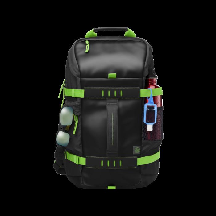 HP 39.62 cm(15.6) in Odyssey Green/Black Backpack