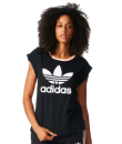 Branded Ogiginal Adidas Womens Roll Up Tee