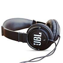 JBL C300SI On-Ear Dynamic Wired Headphones (Black Color)