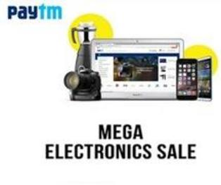 Paytm mega electronics Sale 2016 - Irresistible Offers!