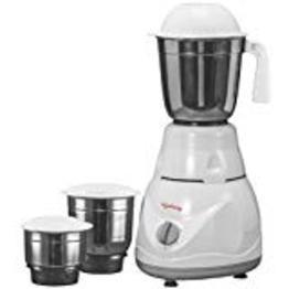 Lifelong Power Pro 500-Watt Mixer Grinder with 3 Jars (White/Grey)by