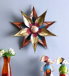 Multicolour Iron Star Wall Hanging by Craftpreneurs India