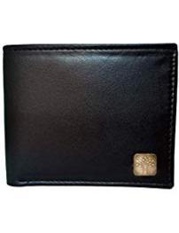 Black Mens Leather Formal Regular Wallet