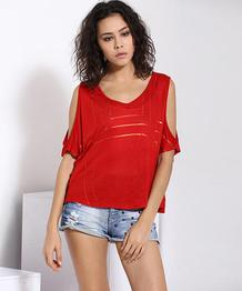 Yepme Maisie Party Top - Red