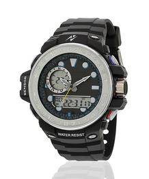 Yepme Men's Analog Digital Watch - Black