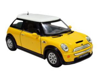 6th Dimensions Mini Cooper S 4.5 Inch Pull Back Die-cast Model Car Beautiful Colour