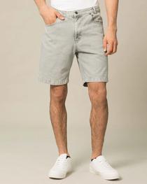Lava Grey Denim Shorts
