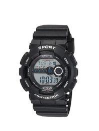 Maxima Black Dial Digital Watch For Men - U-35012PPDN