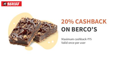 20% Cashback on BERCO'S