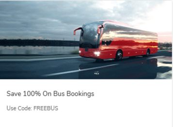 Save 100% On Bus Bookings