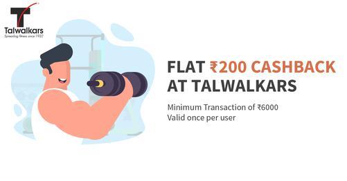 Flat 200 Cashback at Talwalkars