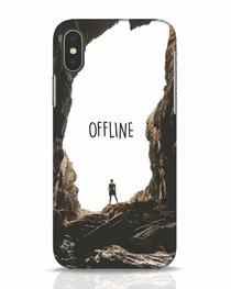 Offline iPhone X Mobile Cover