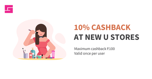 10% Cashback At New U Stores