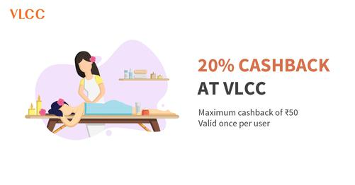 Flat 20% Cashback At VLCC