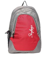 Unisex Red & Grey Groove 4 Backpack