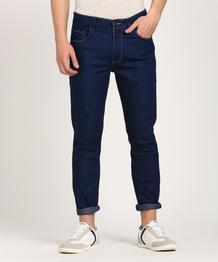 Slim Men Dark Blue Jeans