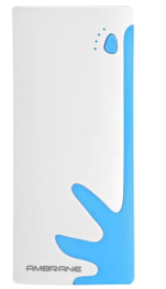 Syska 10000 mAh Power Bank (Power Boost 100) (White, Lithium-ion)