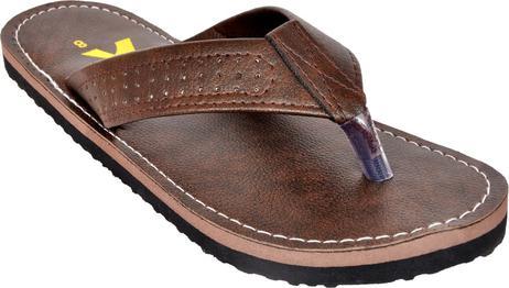 Flats Mens Brown Eva Flipflops (foot_1444_brown_70_6) Flip Flops